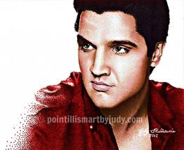 Elvis Presley artwork print - $20.00
