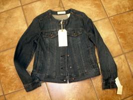 NWT * Liz Claiborne * Denim Jacket .... S - SRP $89 - $29.99