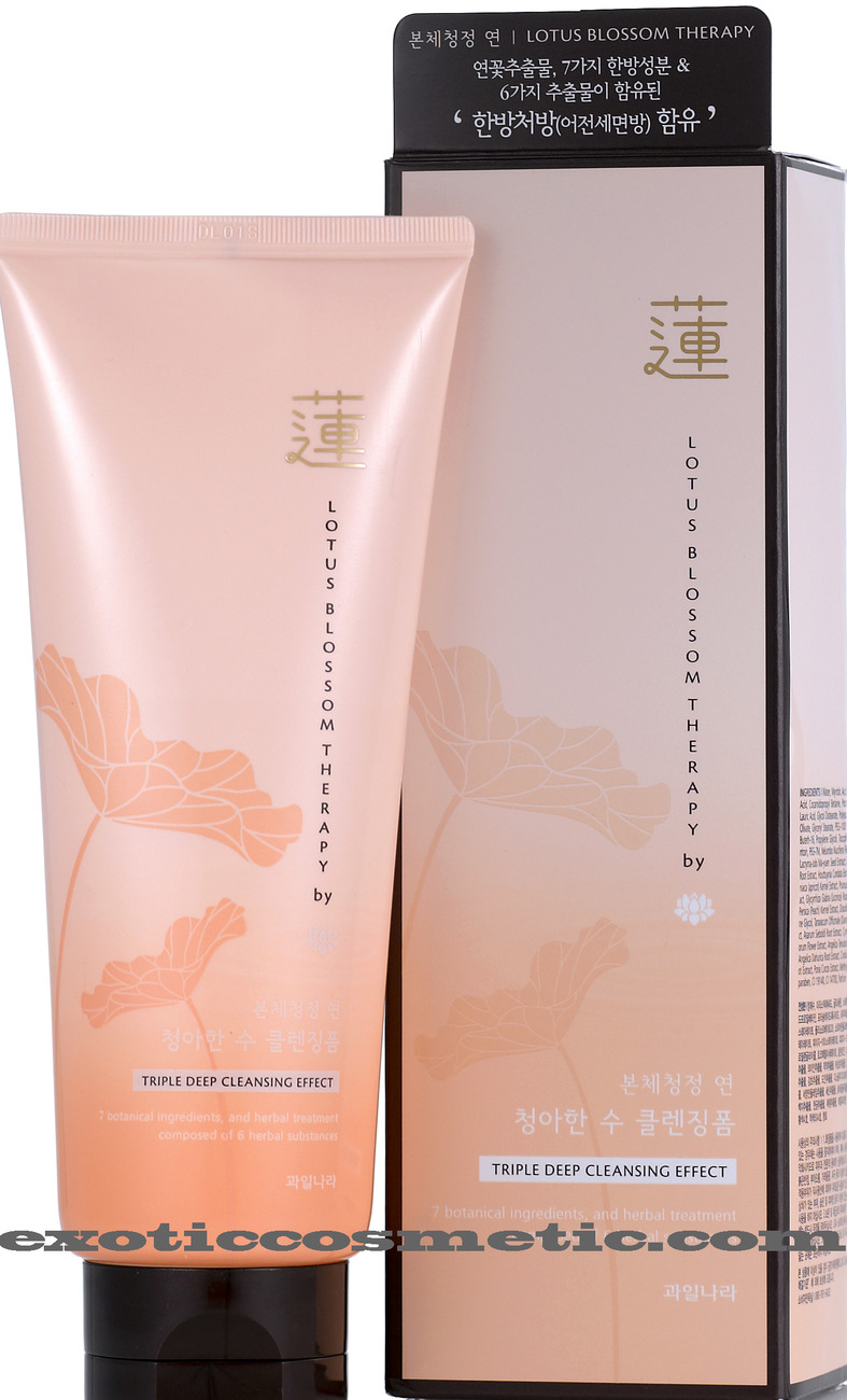 Primary image for LOTUS BLOSSOM THERAPY NATURAL FACIAL CLEANSING FOAM (PREMIUM FACE WASHING SOAP)