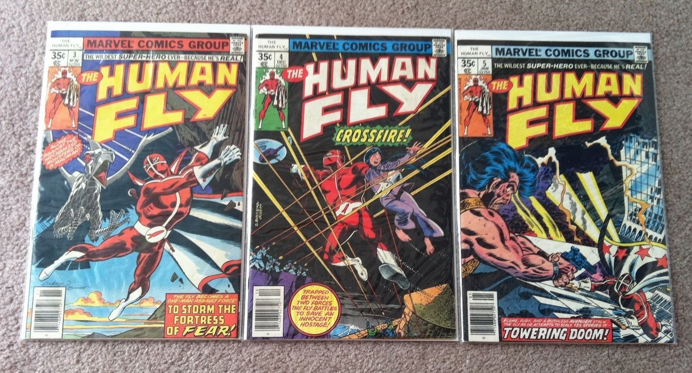 Primary image for Human Fly # 3 - 19 (Marvel lot of 17)