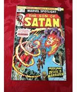 Marvel Spotlight, Son of Satan # 14, 15, 16, 19 (Marvel lot of 4) - $15.30