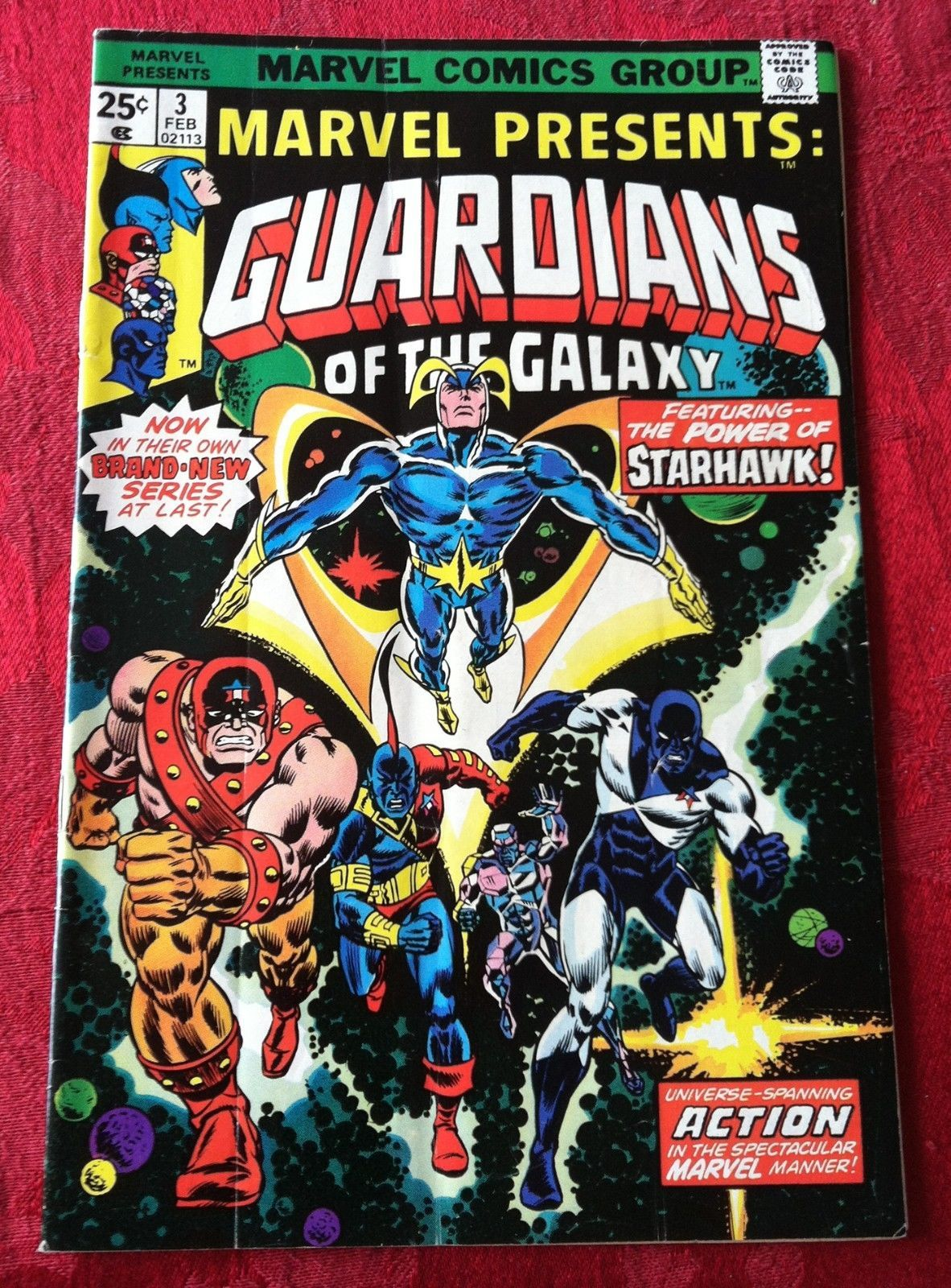 Primary image for Marvel Presents # 3, 4, 9 Guardians of the Galaxy (Marvel lot of 3)