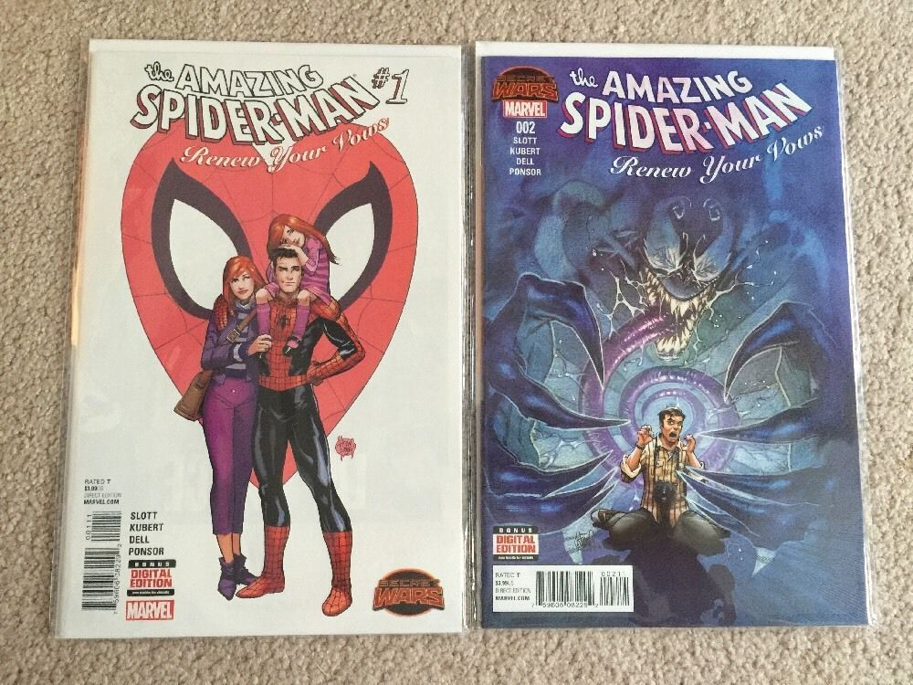 Primary image for Spider-Man (Amazing, Renew Your Vows, Spider Island - Marvel - pick a lot of 12)