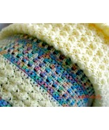 CROCHET PATTERN - Bubbles Baby Blanket, easy to make, baby accessory, cu... - $3.99