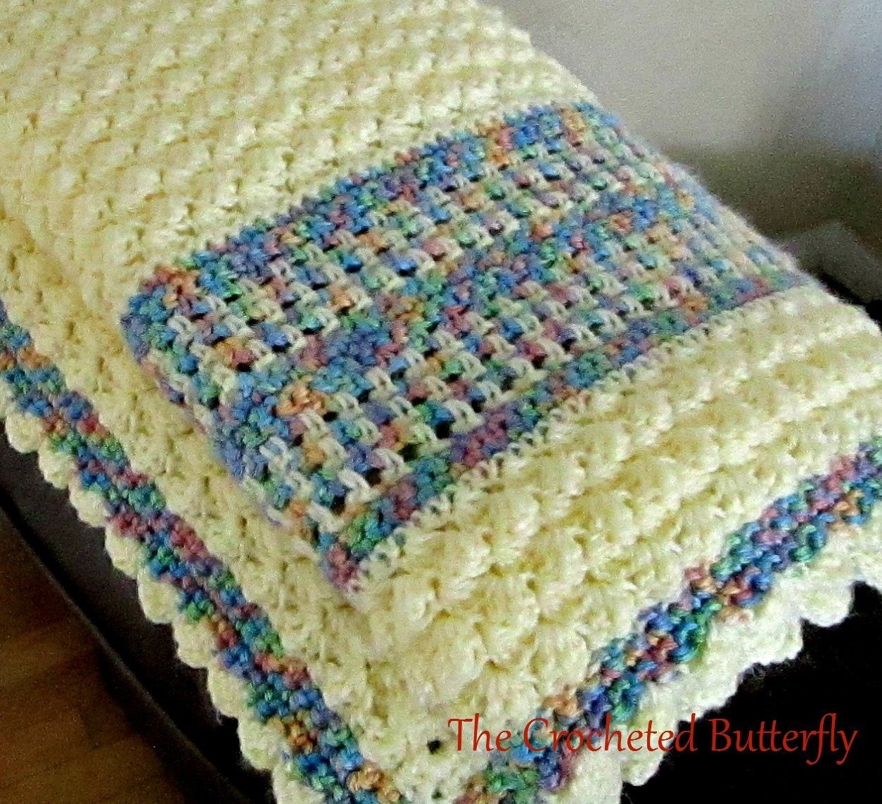 CROCHET PATTERN - Bubbles Baby Blanket, easy to make, baby accessory, cuddly