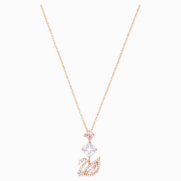 Primary image for Swarovski swan Y women necklace