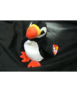 Ty Original Puffer The Puffin Beanie Baby Hang Tag 1997 Excellent MWMT - $197.99