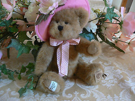 Vintage Boyds Bear-The Head Bean Collection-May T. Beary-Bear of the Month 2008 - $34.64