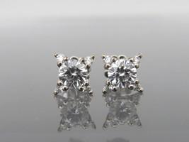 Vintage 14K Solid White Gold 2.29ct Diamond Earrings - $23,715.00