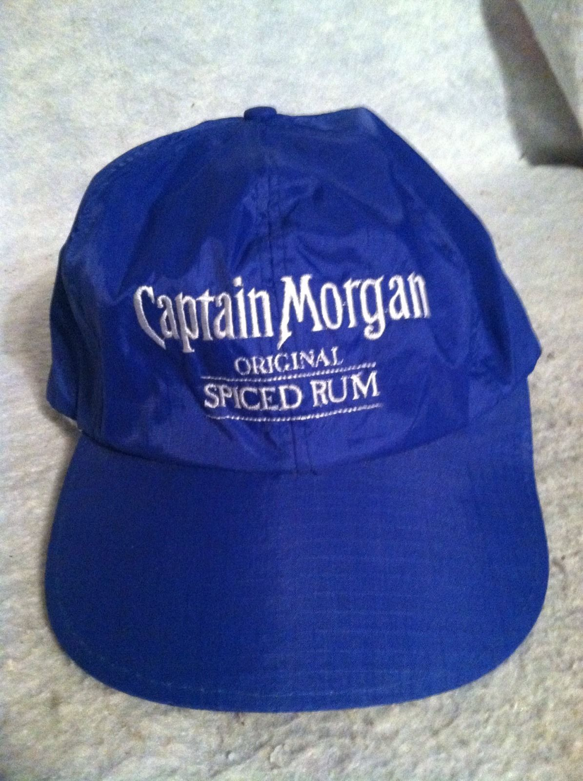 53b83a4163d Bright Blue Captain Morgan Spiced Rum Hat and 50 similar items
