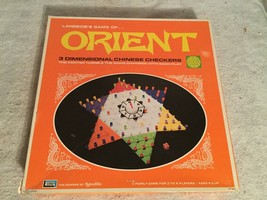 CHINESE CHECKERS ORIENT GAME LAKESIDE 3 DIMENSIONAL 1972 #8323 COMPLETE - $24.04
