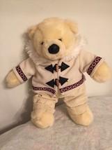 "Soft 16"" DAN DEE Collector's Choice Eskimo Teddy Bear Cream Animal Stuffed Plush - $38.62"