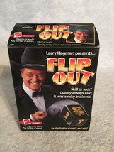 Vintage Larry Hagman of Dallas Flip Out Dice Board Game Mattel 1985. - $12.59