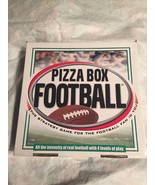 Pizza Box Football Strategy Game for the Football Fan 4 Levels of Play C... - $17.34