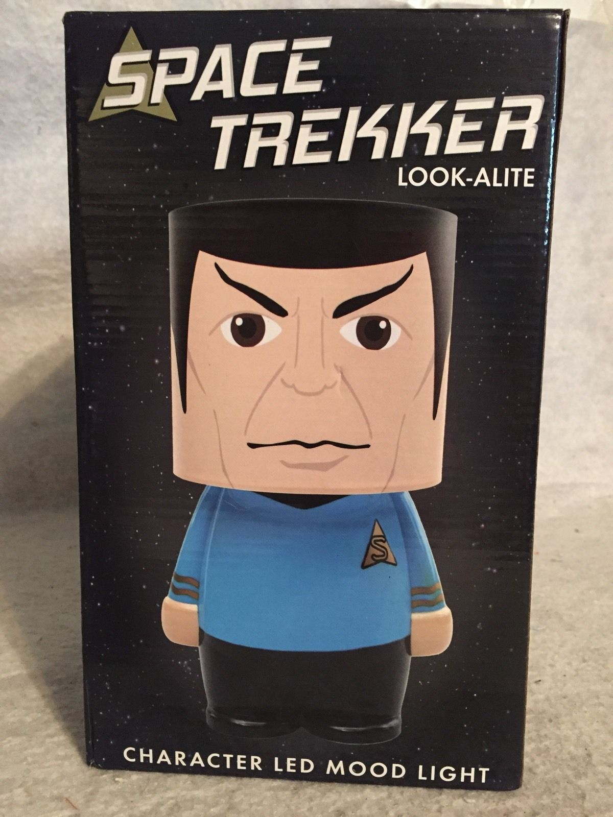 Primary image for Space Trekker Star Trek New LED Look-ALite Mood Lamp Light. Spock. UNIQUE.  USB
