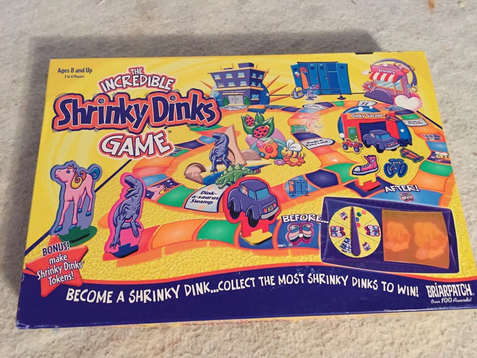 Primary image for THE INCREDIBLE SHRINKY DINKS GAME 2002 Briarpatch. Complete. 8+. 2-4 Players