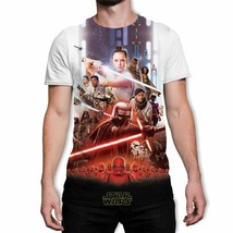 Star Wars Episode 9 The Rise of Skywalker Men's White T-Shirt - $19.88