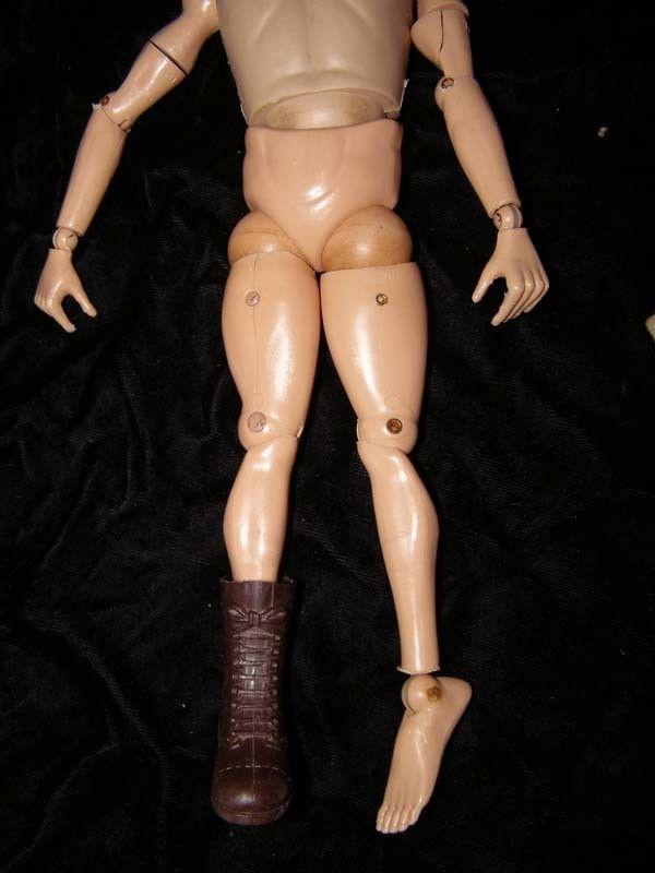 GI Joe G.I. Joe 1st Issue Brunette Doll In Australian Jungle Fighter Outfit 1960