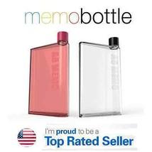 Memo Bottle Size A6 Reusable Slim Classic Fashion Sport Water Health Bottle - $8.09+