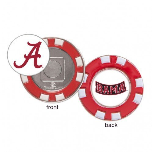 Primary image for Alabama BAMA Crimson Tide Ball Marker Challenge Coin Poker Chip Metal