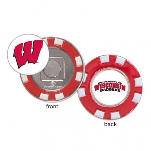 Primary image for Wisconsin Badgers Ball Marker Challenge Coin Poker Chip Metal