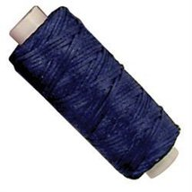 Tandy Leather Waxed Braided Cord 25 yds. (22.9 m) Blue - $9.95