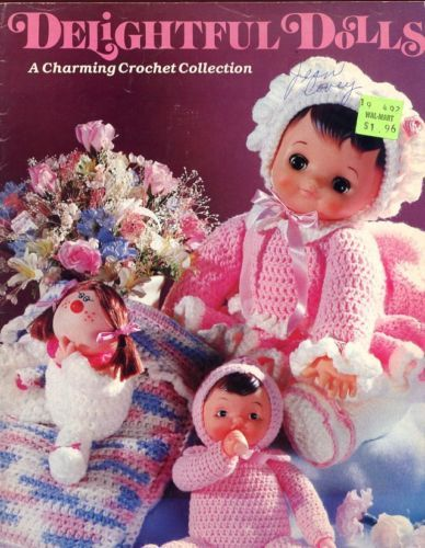 Primary image for Delightful Dolls Japanese, Clown, Gnome Crochet Pattern - 30 Days To Shop & Pay!