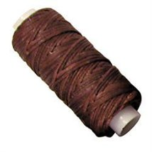 Tandy Leather Waxed Braided Cord 25 yds. (22.9 m) Brown - $9.95