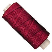 Tandy Leather Waxed Braided Cord 25 yds. (22.9 m) Red - $9.95