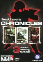 "Tom Clancy""s Chronicles (Splinter Cell, Ghost Recon, Rainbow Six 3) [Win... - $21.77"