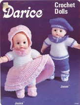 Darice Crochet Doll Jasica & Jason Outfits Pattern  -  30 Days to Shop & Pay! - $1.50