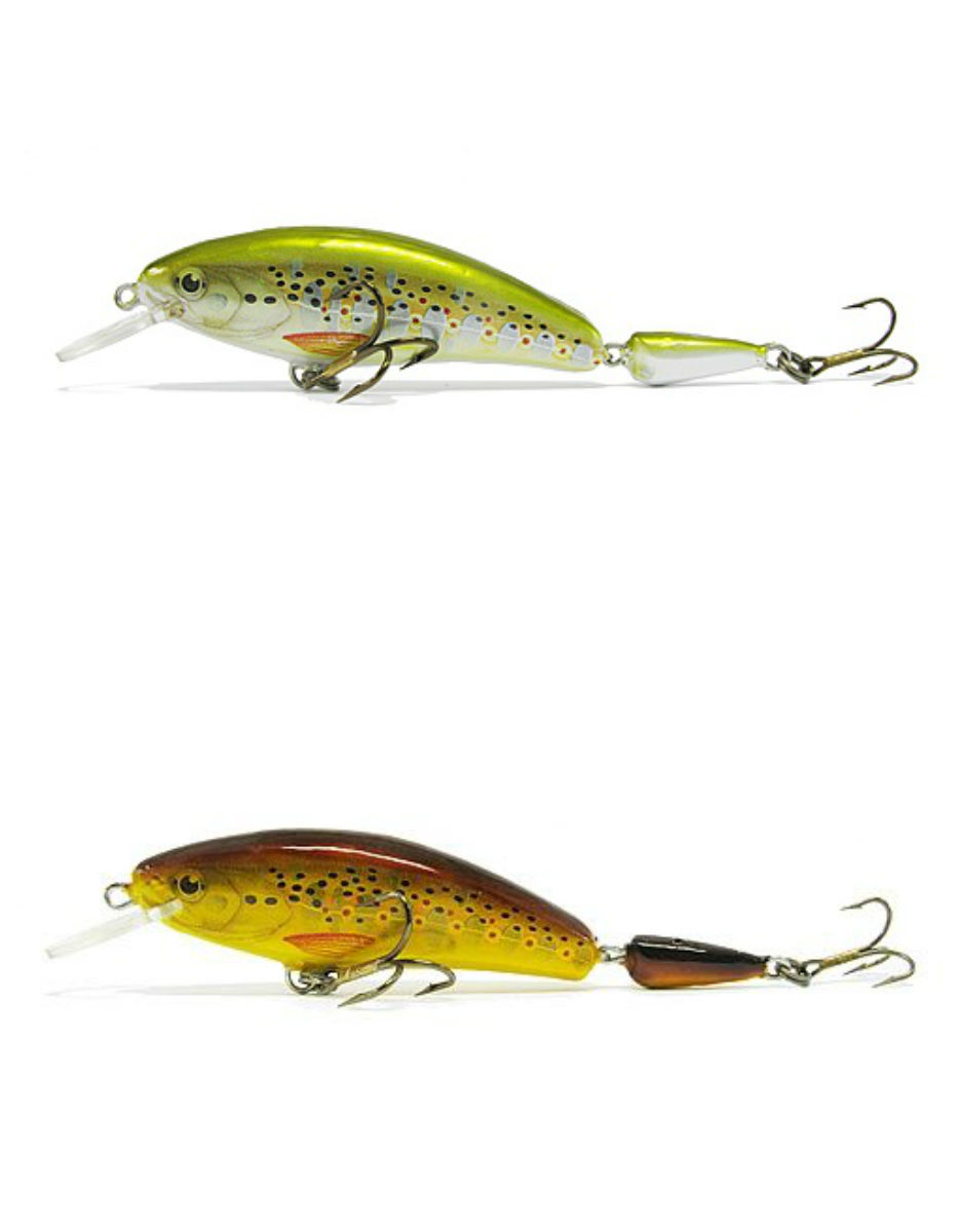 Ugly duckling fishing lures 4 wooden lure pike muskie for Wood fishing lures