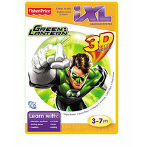 Fisher Price I Xl Green Lantern W/ 3 D Game Glasses Included  3 7yrs New - $7.92
