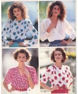 Pullover Mock Wrap Blouse Butterick Pattern 3364 Misses' Size 18-22 UNCUT - $5.50