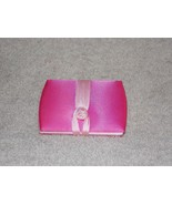 Estee Lauder PINK Purse Costmetic Travel Mirror Material Exterior Read D... - $12.87
