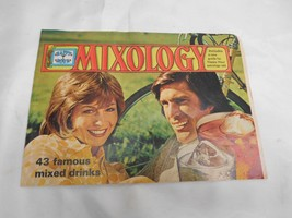 Old Vtg '73 Southern Comfort Whiskey Mixology Mixed Drink Bartender Manu... - $19.79