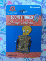 Looney Tunes USPS Stamp Collection -Tweety Bird - Metal Bookmark - 1997 - $4.95