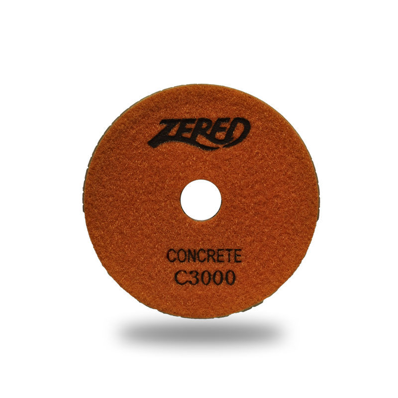 "Primary image for ZERED 3"" Diamond Concrete Resin Polishing Pads Grit 3000"