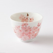 SAKURA - Minoyaki Pottery Tea Cup : yunomi chaw... - $14.01