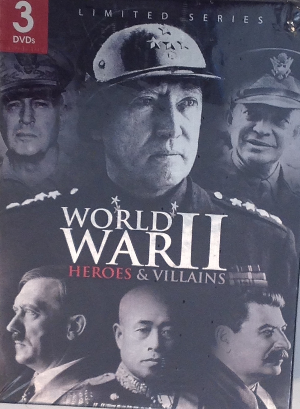 Primary image for World War II: Heroes & Villains DVD 3 Disc Set 2011