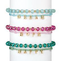 "Avon Katarina Sentiment bracelet ""Happy"" - $5.99"