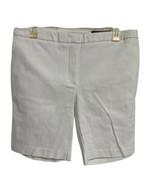 Chaps Tropical Bay White Bermuda Shorts Size 6 - $21.68