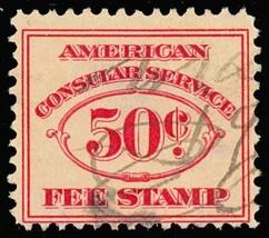 RK2, Used 50¢ Consular Service Stamp Cat $150.00 - Stuart Katz - $100.00