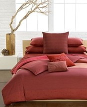 Calvin Klein SIERRA Persimmon 8P Queen Duvet Co... - $264.28