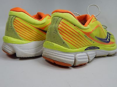 Saucony Kinvara 5 Women's Running Shoes Sz US 10 M (B) EU 42 Yellow S10238-1