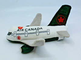 """Air Canada Airlines Airplane Logo Plush Toy Sound Effects 23 cm  9"""" Long... - $28.59"""