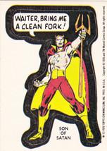 1976 MARVEL COMIC BOOK SUPER HEROES STICKER CARD **SON OF SATAN** NM- - $4.99
