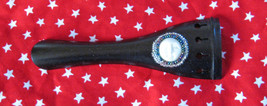 "Embellished Tailpiece for 16"" Viola/Full Moon Cabochon/Beadwork/OOAK  - $15.00"