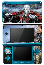 CASTLEVANIA ALUCARD Nintendo 3DS Vinyl Skin Sticker Decal - $10.99