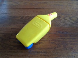 Little Tikes Yellow Dust Buster Pretend Vacuum Cleaner hand vac kitchen ... - $9.50